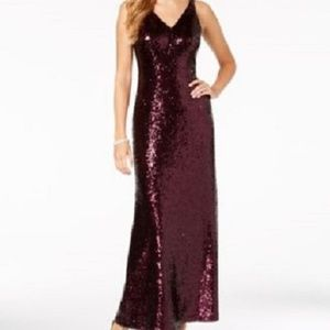 New Night Way Sequin Long Evening Gown Prom